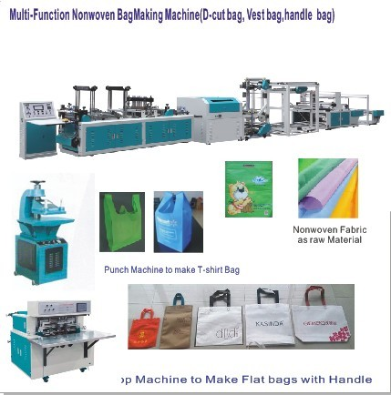 Multifunctional Nonwoven bag Making Machine 700