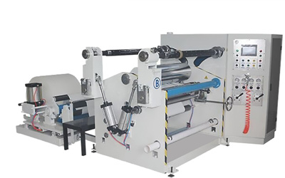 paper straw slitting machine